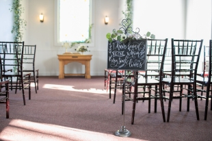 Kendall Memorial Chapel can be used for small ceremonies.