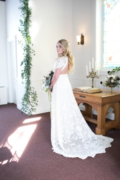 The chapel can also be used as a preparation area for the Bride and Bridesmaids.
